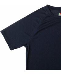 Lesara 8er-Set Fruit of the Loom Kinder-T-Shirt Schwarz - Schwarz - 104