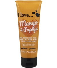 I LOVE cosmetics krém na ruce MANGO & PAPAYA 75 ml