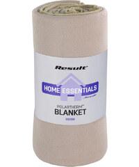 Fleecová deka - Béžová univerzal