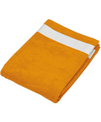 Plážový ručník - Oranžová univerzal