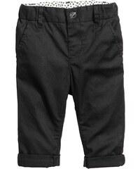 H&M Bavlněné kalhoty chino