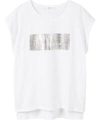 MANGO T-Shirt Coton Message