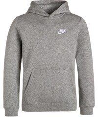 Nike Performance Kapuzenpullover dark grey heather/white