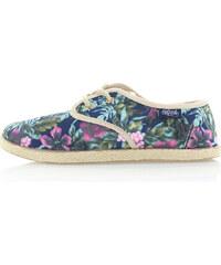 Tmavě modré květované boty Refresh 61913