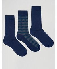 Ciao - Italy - Socken im 3er-Set aus Modalbaumwolle in Marineblau - Marineblau