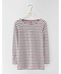 Langes Bretonshirt mit langen Ärmeln Bunt Damen Boden