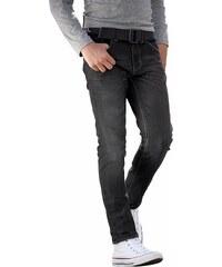 Bench Stretch-Jeans (Set, 2 tlg., mit Gürtel)