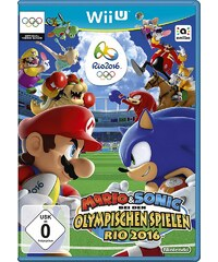 NINTENDO WIIU Mario & Sonic bei den Olympischen Spielen: Rio 2016 Nintendo Wii U