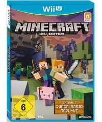 NINTENDO WIIU Minecraft Edition inkl. Super Mario Mash-Up Nintendo Wii U