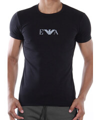 Pánské tričko Emporio Armani 111267 CC715 černá Černá