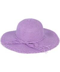 Art of Polo Fialový dámský letní klobouk