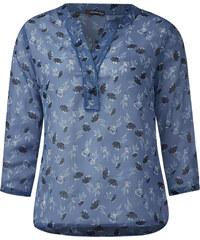 Street One Chiffon-Blütentunika Helen - endless blue, Damen
