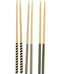 House Doctor Bambusové hůlky 3D - set 6 párů