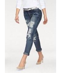Arizona Damen Destroyed-Jeans blau 17,18,19,20,21,22,76,80,84,88