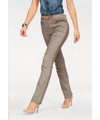 Arizona Damen Gerade Jeans Relax-Fit braun 34,36,38,40,42,44,46,48