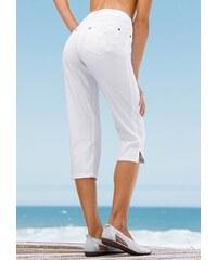 Cheer Damen 3/4-Hose bzw. 3/4-Jeans weiß 34,36,38,40,42,44,46,48