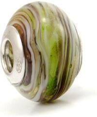 Vinutá perla Dora - benátské sklo - Murano - rmir3