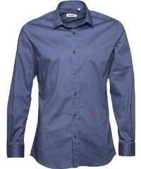 Moschino Herren Hemd mit langem Arm Blau