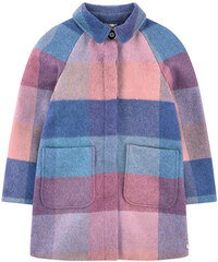 Paul Smith Junior Karierter Mantel aus Woll-Mischgewebe