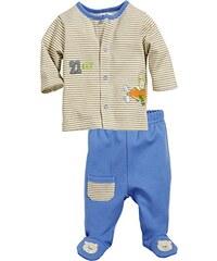 Schnizler Baby - Jungen Jogginganzug Flugzeug, 2-teilig Sweatjacke und Strampelhose, Oeko-Tex Standard 100