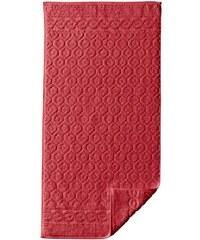 ROSS Walkfrottier-Tuch rot 100x150 cm Badetuch,17x24 cm 4-St.-Pckg. Waschhandschuh,50x100 cm 2 St.-Pckg. Handtuch,75x150 cm Duschtuch