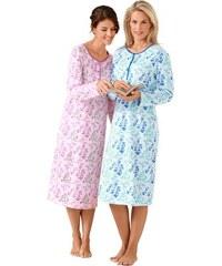 Rosalie Nachthemden (2 Stck.) farb-set 36/38,40/42,44/46,48/50,52/54,56/58