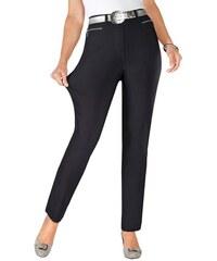 Damen Hose in hochwertiger Thermo-Bengalin-Qualität STEHMANN grau 36,38,40,42,44,46,48,50,52,54