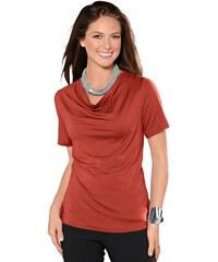 Damen Classic Inspirationen Shirt mit eingesetzten Ärmel CLASSIC INSPIRATIONEN braun 36,38,40,42,44,46,48,50,52,54