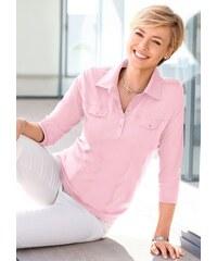 Damen Collection L. Poloshirt aus zertifizierter Bio-Baumwolle COLLECTION L. rosa 36,38,40,42,44,46,48,50,52,54