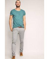 Esprit Bavlněné chino kalhoty s páskem