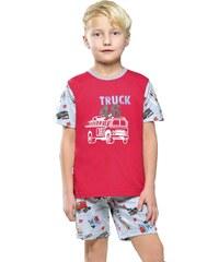 Taro Bavlněné dětské pyžamo Truck
