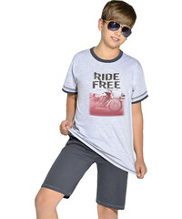Taro Bavlněné chlapecké pyžamo Free ride