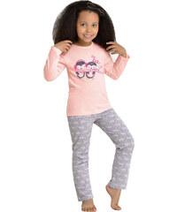 Taro Dívčí pyžamo Mija tučňáci