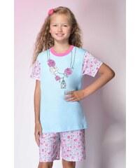Taro Bavlněné dětské pyžamo Roses