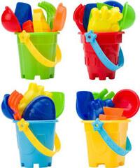 Sada formiček a hraček na písek - Vícebarevná univerzal