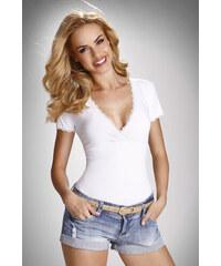 a5eb925be5f6 Eldar Dámske tričko Dolly biele M
