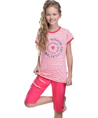 Taro Dívčí pyžamo Amelie Lucky růžové