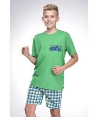 Taro Chlapecké pyžamo František zelené