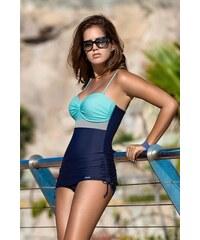 Gabbiano Dámské plavky tankiny Nina tyrkys tmavě modré