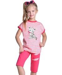 Taro Dívčí pyžamo Amelie bílý tygřík