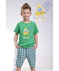 Taro Chlapecké pyžamo Julek zelené