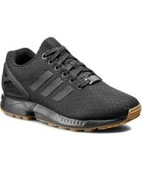 Boty adidas - Zx Flux S79932 Cblack/Cblack/Gum4