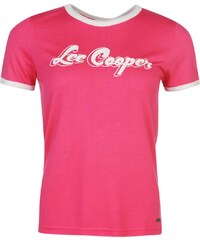 Tričko Lee Cooper Retro Ringer dám.