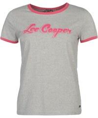 Tričko Lee Cooper Retro Ringer dám. popelavě šedá
