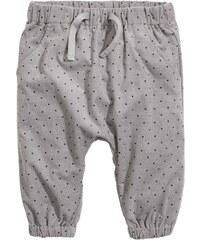 H&M Natahovací kalhoty s podšívkou