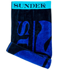 SUNDEK towel with contrast logo