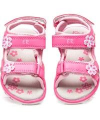 ERINO Luxusní růžové sandálky pro dívky