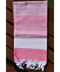 TipTrade Peshtemal osuška Basic Barva: Růžová