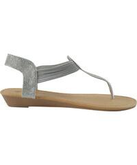 Lesara Sandales nu-pieds métalliques
