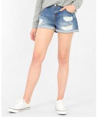 Pimkie Shorts aus Destroy-Denim